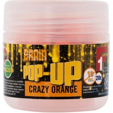 Бойлы Brain Pop-Up F1 Crazy orange (апельсин) 10мм