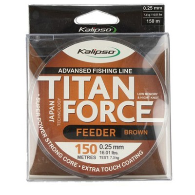 Леска Kalipso Titan Force Feeder BR 150м