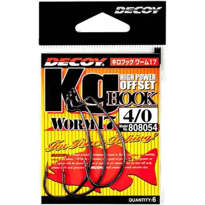 Крючок Decoy Hook Worm 17 #5/0