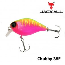 Воблер Jackall Chubby 38F dragon fruit mat tiger